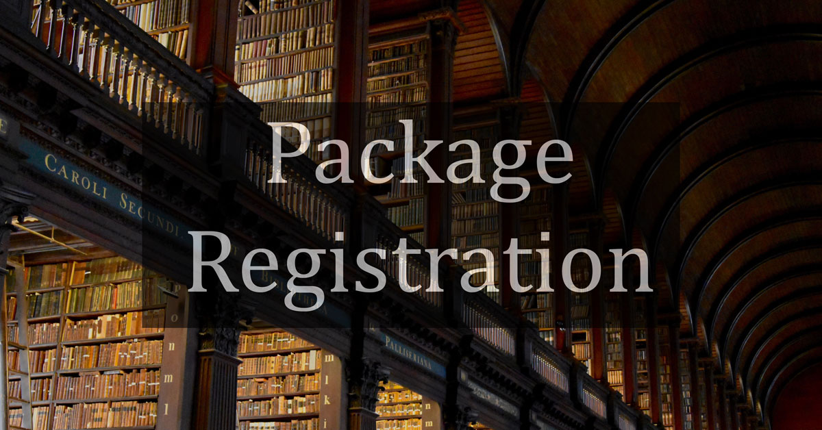 Package Registration and Tests