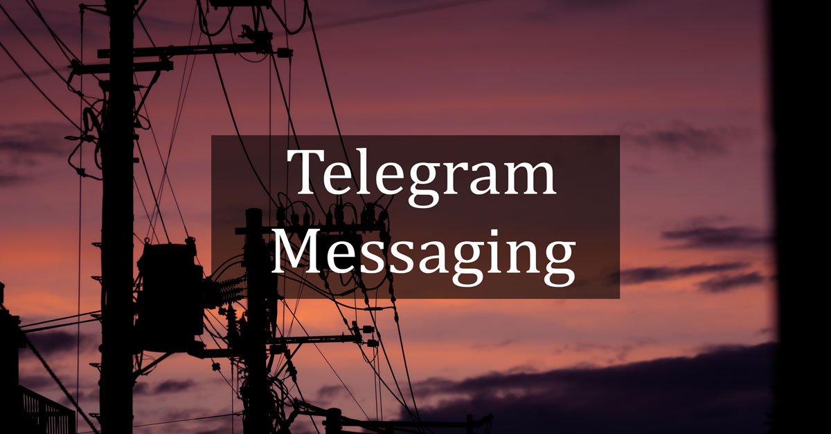 Messaging with Telegram